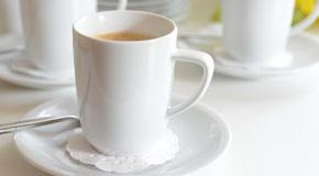 Taza de café conferencia